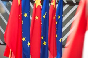 Flagge EU China 300